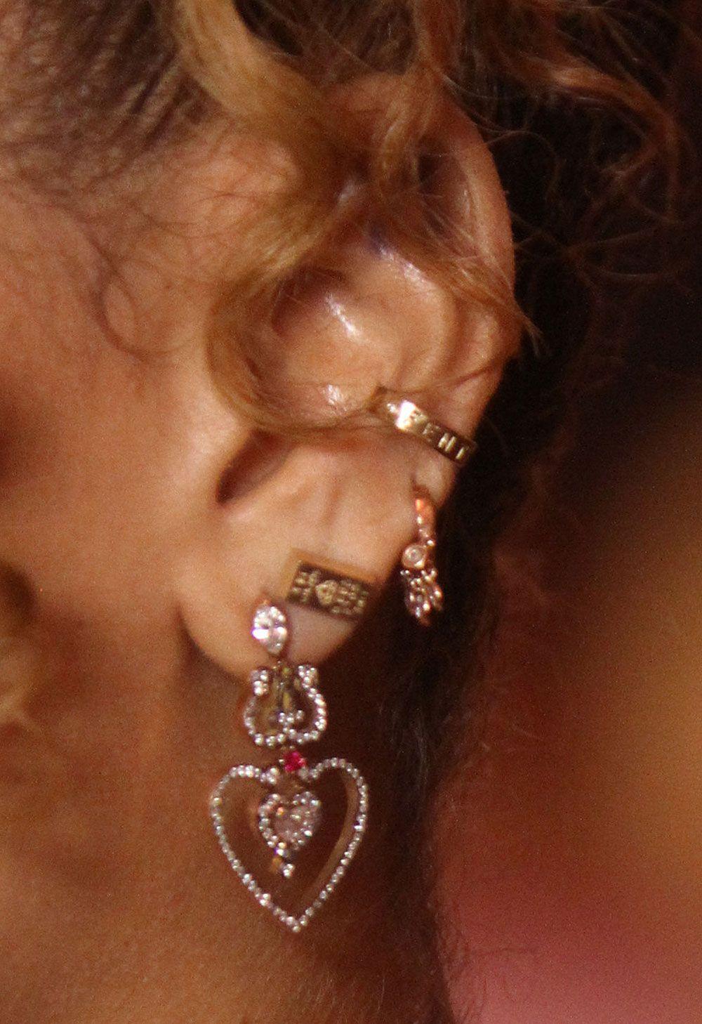 Rihanna's Earring Game Deserves A Gold Medal