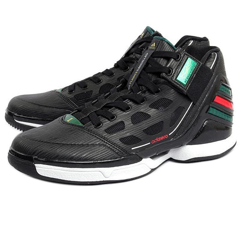 6e9a8e6af447 NEW ADIDAS   SIZE 15   ADIZERO DERRICK ROSE 2 BLACK BASKETBALL SHOES G23590   adidas  BasketballShoes