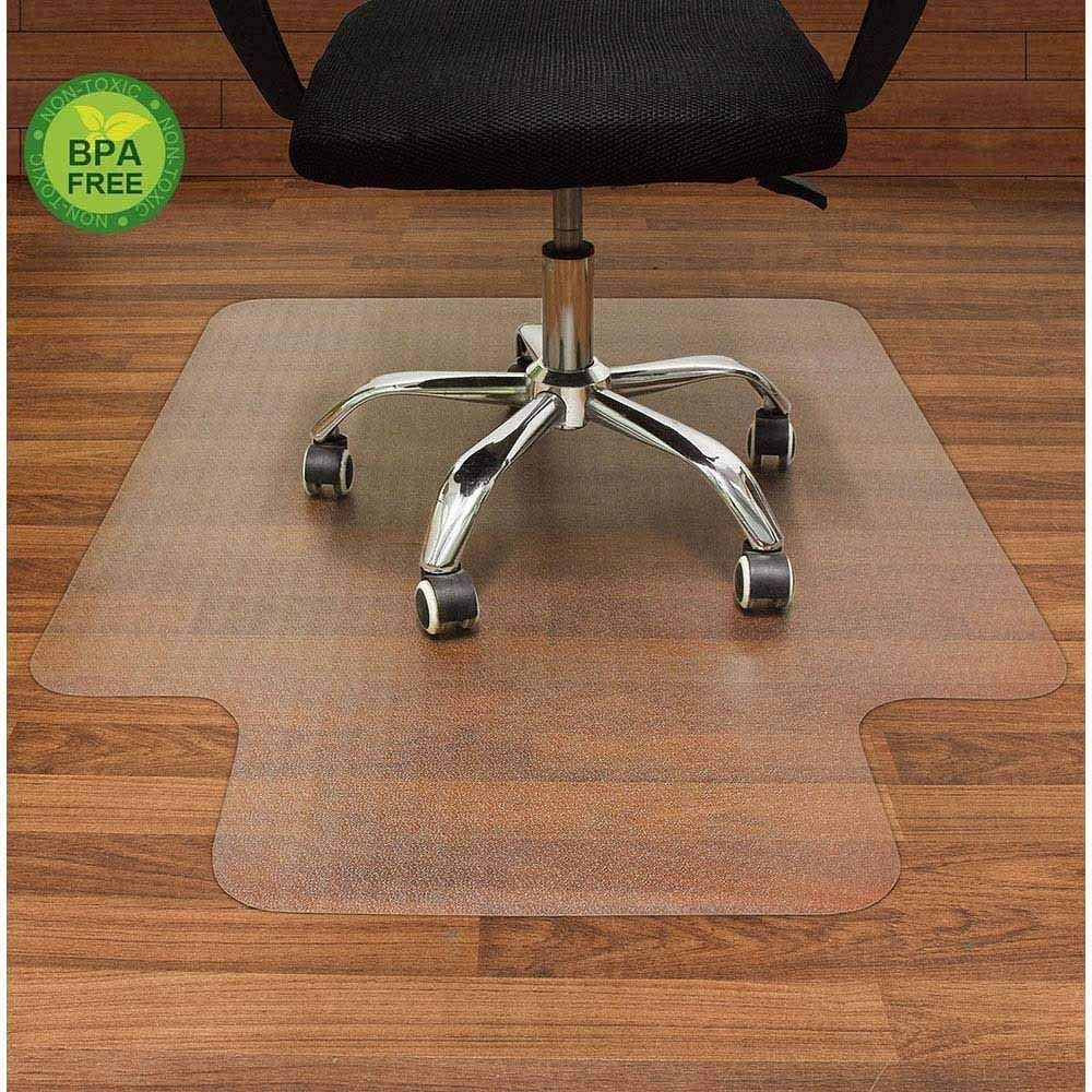Perfect Floor Mat For Desk Chair Hardwood Floors And View