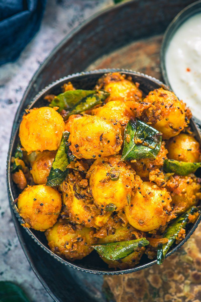 Bombay potato is a popular dish made using baby potatoes
