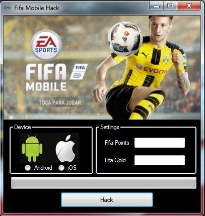 FIFA MOBILE HACK tool download 2017 cheats version  FIFA