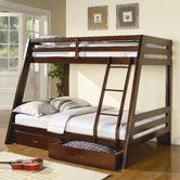 Found it at Wayfair - Mullin Twin over Full Bunk Bed with Built in Ladder and Storage  Would be for 2nd guest room.  Sale price $596