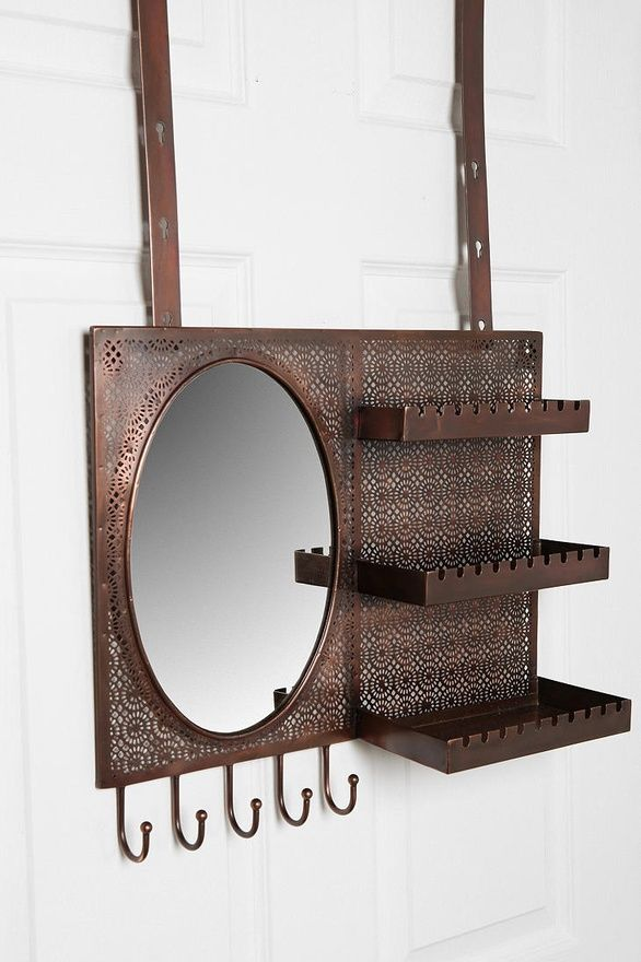 Over the door mirror/jewelry organizer | Urban outfitters ...