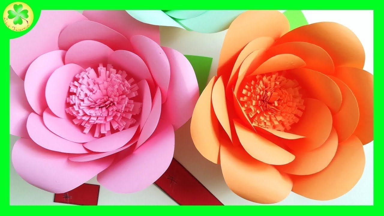 Tutorial Prezentujacy Sposob Tworzenia Przeslicznych Papierowych Rozyczek Roza Roze Rozyczka Rozyczki Rose Roses Fl Paper Roses Paper Flowers Rose