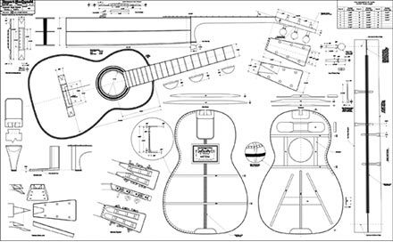 Inventing the American Guitar Book and Martin Guitar Plans
