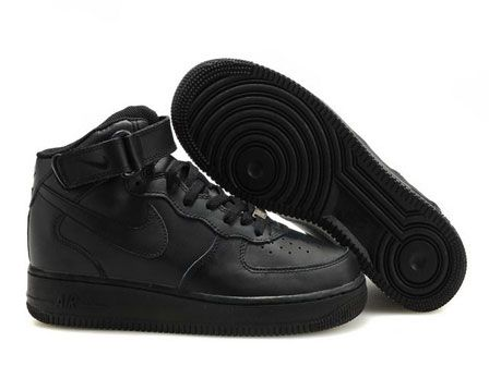 Nike Air Force 1 07 Mid All Black