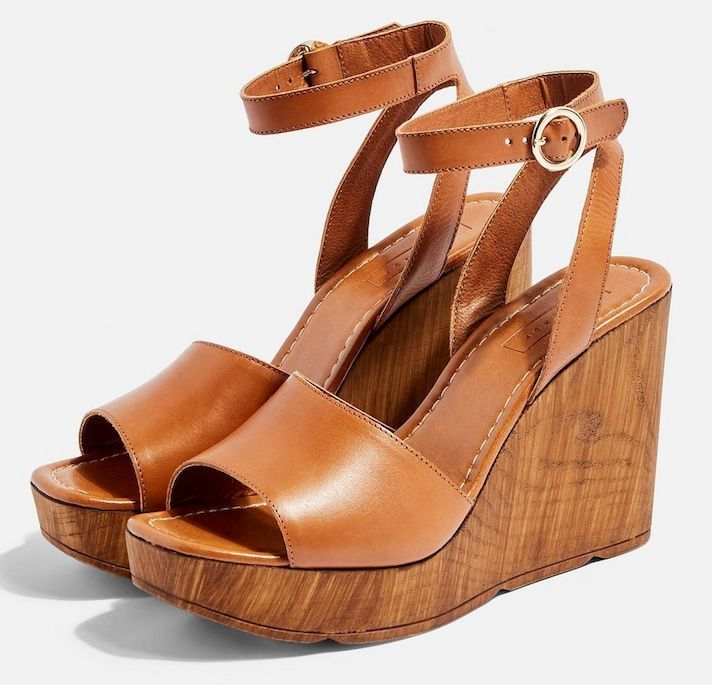 Spring Wedges to Shop, Because Who Doesn't Love Spring Wedges  is part of Summer sandals wedge, Womens shoes wedges, Platform wedge sandals, Wedge sandals, Spring wedges, Spring shoes wedges - When the wedges are out, you know it's spring