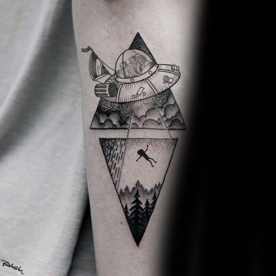 Tattoo Rick And Morty: Tatuagem De Rick E Morty, Tatuagem