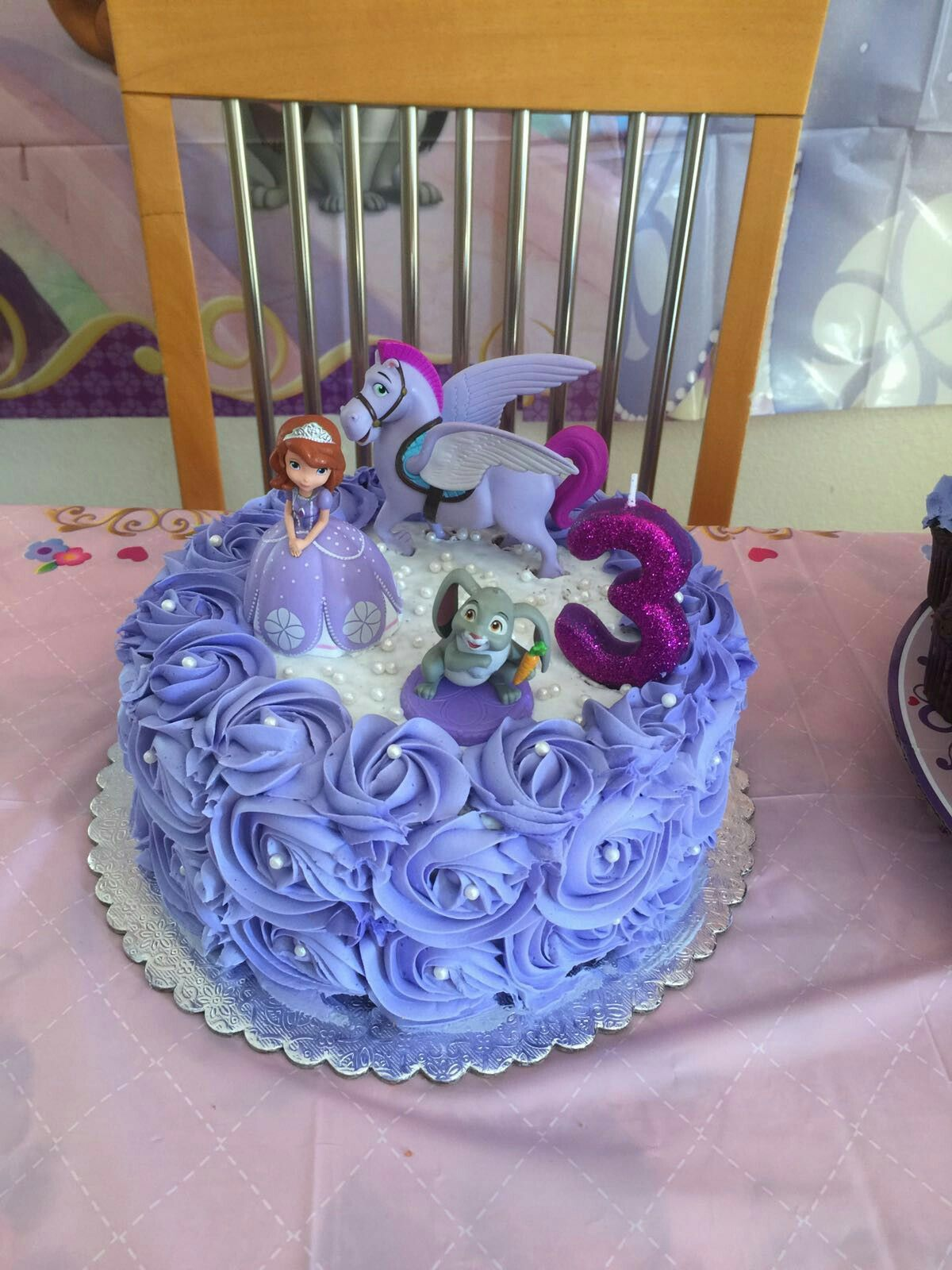Sofia the first cake … Sofia the first birthday cake
