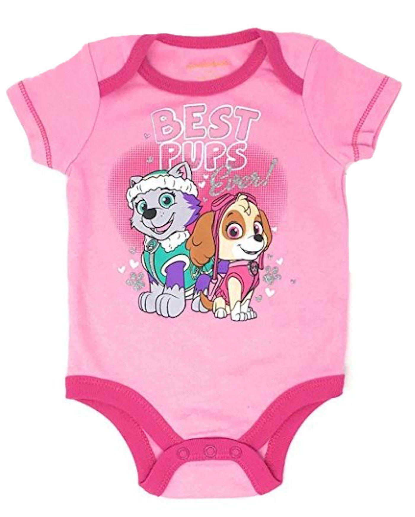 Paw Patrol Baby Infant Romper Bodysuit 0-3 Months NEW