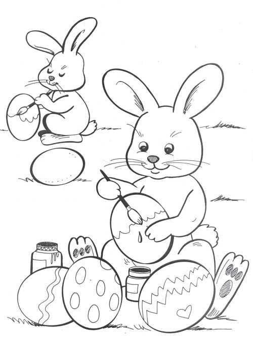 Pin By Debbie Hantak On Pascoa Coelhos Easter Coloring Pages Easter Egg Coloring Pages 4th Grade Crafts