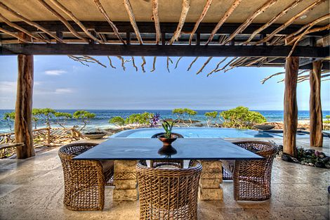 Indoor outdoor living is uniquely captured at this custom designed luxury  vacation home along the Kona Coast of the Big Island Hale Ohi a  aka Aqua Spray   Hawaii Luxury Vacation Rental Homes  . Pacific Outdoor Living Hawaii. Home Design Ideas