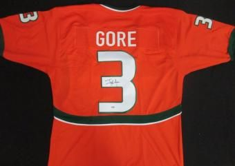 Frank Gore signed jersey
