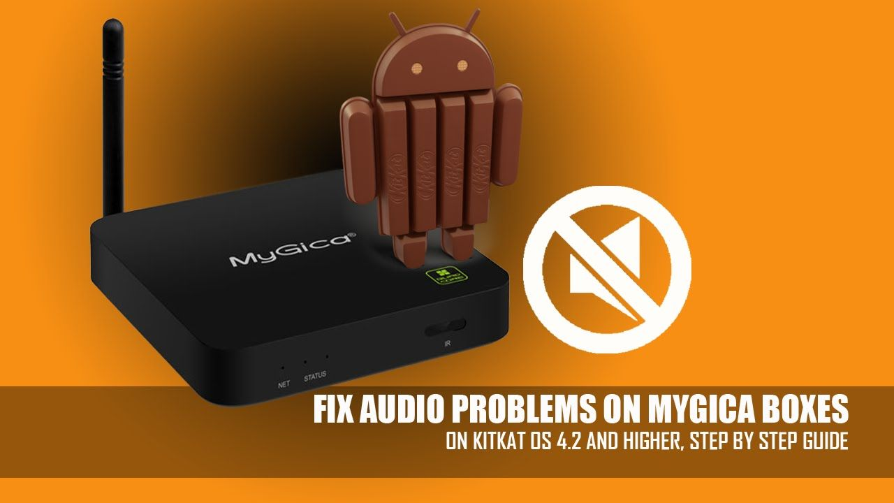 How to Fix Sound Problem on MyGica Boxes 101 | MyGica | Box