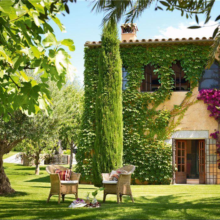 Los 50 jardines m s bonitos de el mueble verano - Jardines exteriores de casas modernas ...