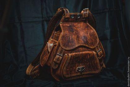 0a5f0e50693c Рюкзаки ручной работы. Заказать Рюкзак из натуральной кожи ...