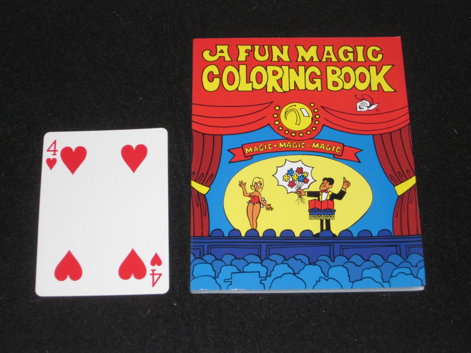 7 5 Pocket Size Famous Coloring Book Magic Trick Close Up Pocket Walk Around Ebay Collectibles Coloring Books Color Books