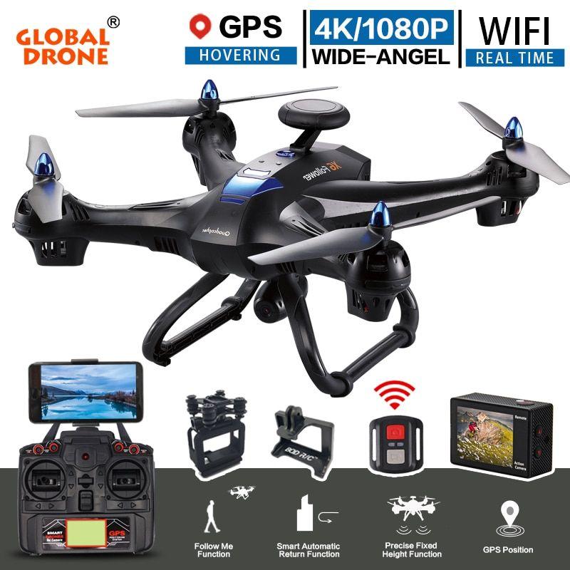 Global Drone X183 Professional Dual Gps Follow Me Quadrocopter