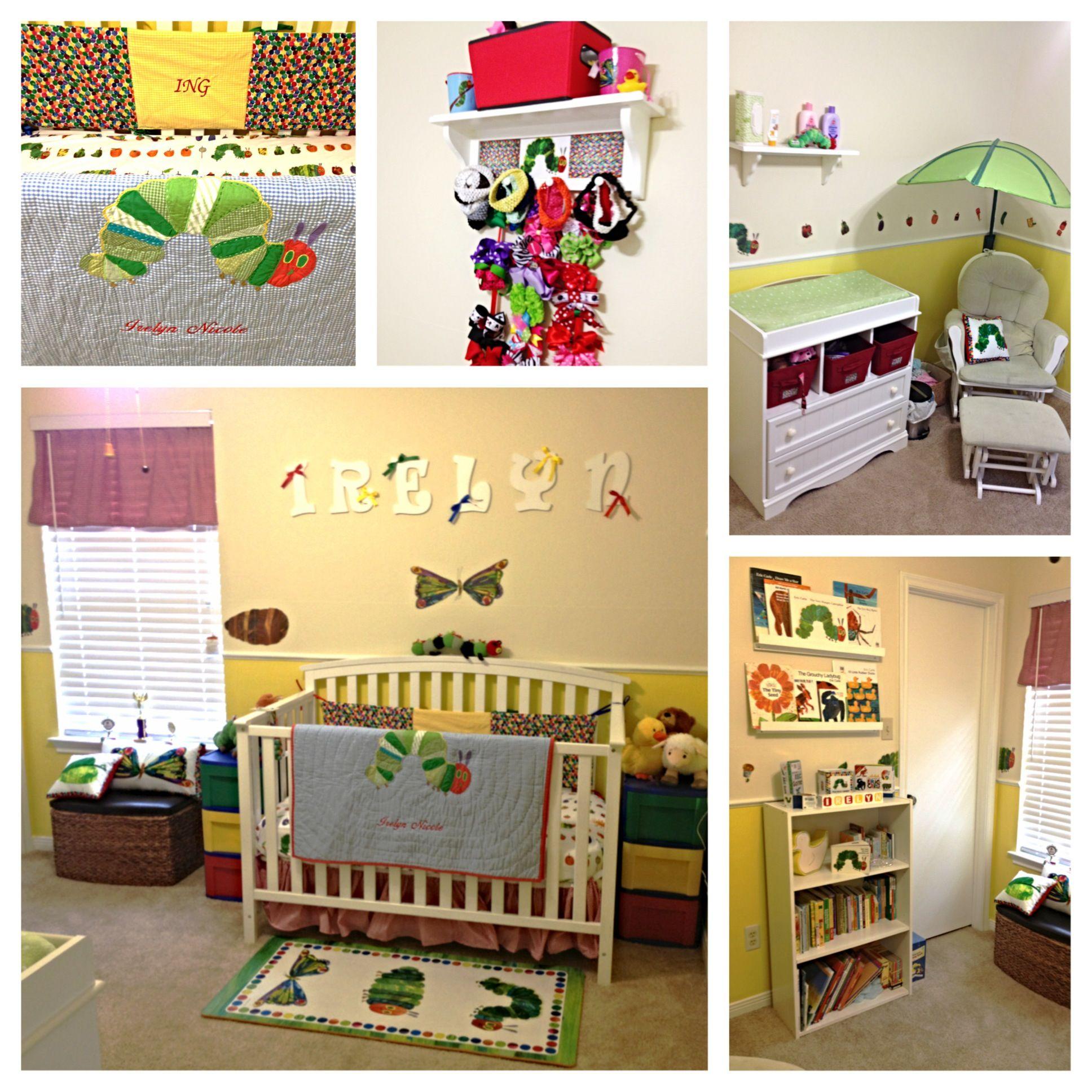 Eric Carle The Very Hungry Caterpillar Nursery | Baby | Pinterest ...