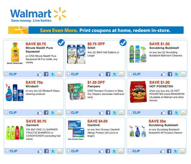 Walmart Printable Coupons Walmart Coupon Free Printable Coupons Coupons