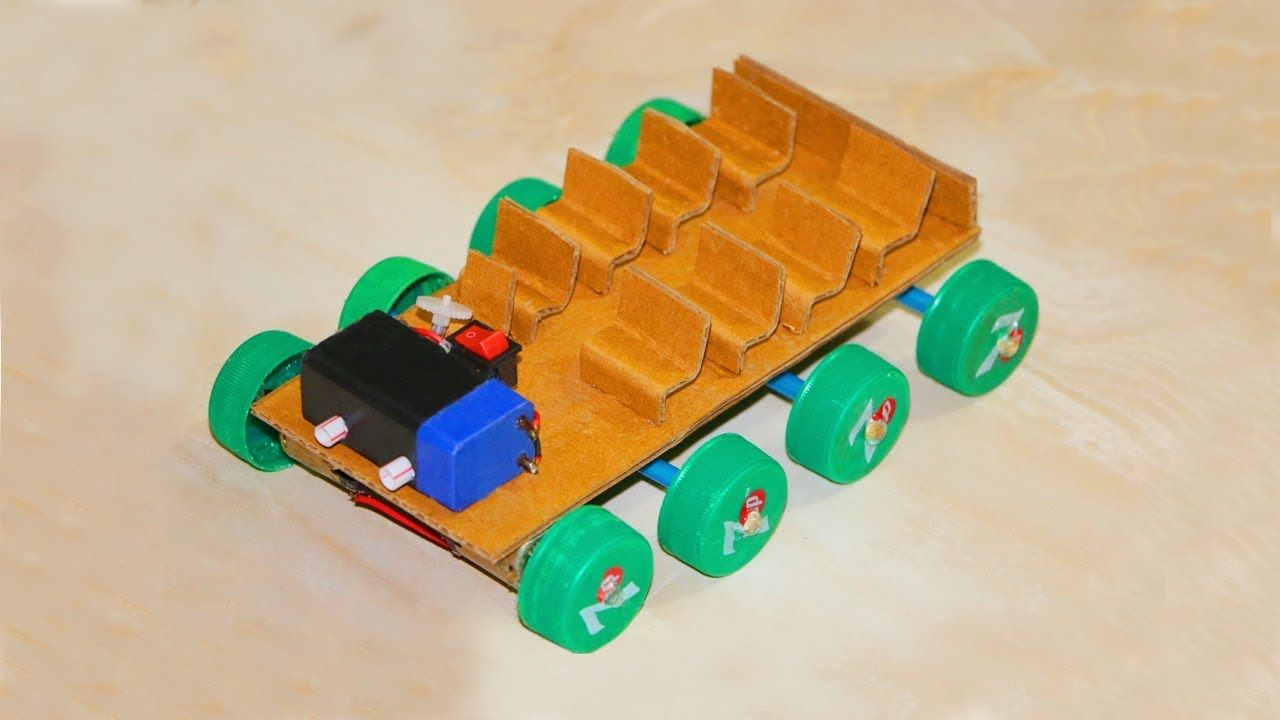 How To Make A Toy Car Make Your Own Toy Car At Home Diy Projects