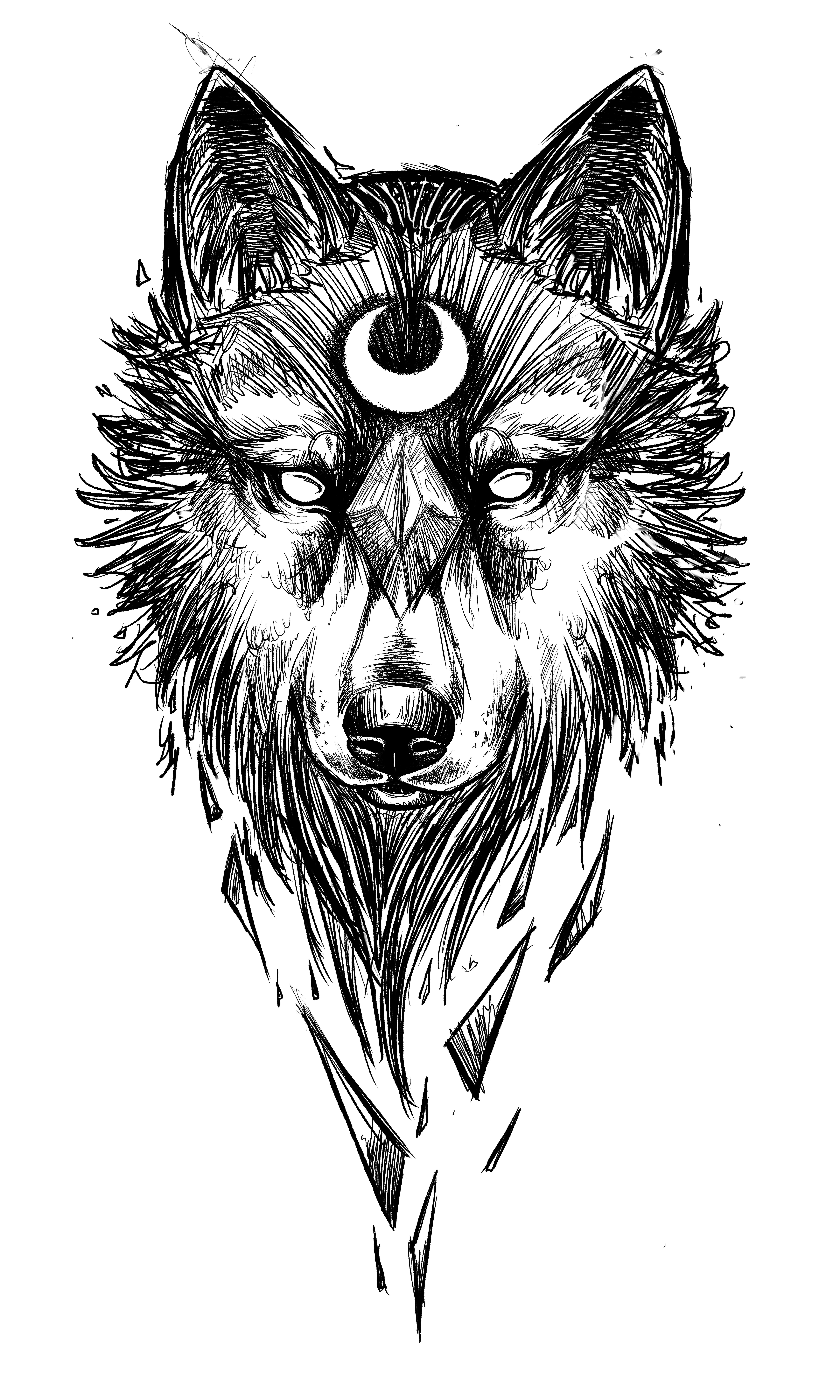 Sketch Wolf Tattoo Design By Chestnut Tattoo Desenho Tatuagem Lobo Tatuagem Desenho De Tatuagem De Lobo