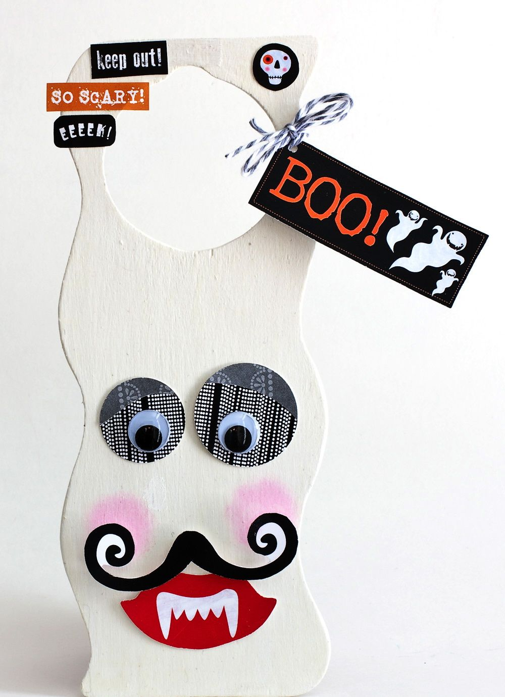 Ghost Door Hanger Dark doors, Hanger and Holidays halloween - michaels halloween decorations