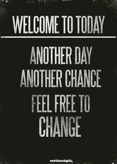 Another Day Chance Feel Free To Change For More