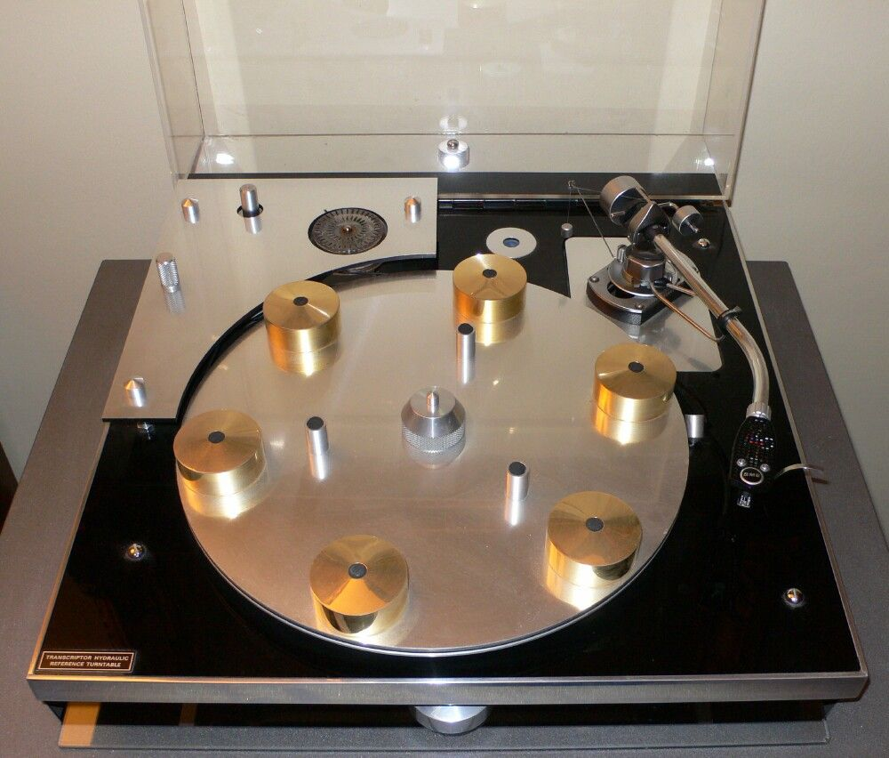 Transcriptors Hydraulic Reference Turntable