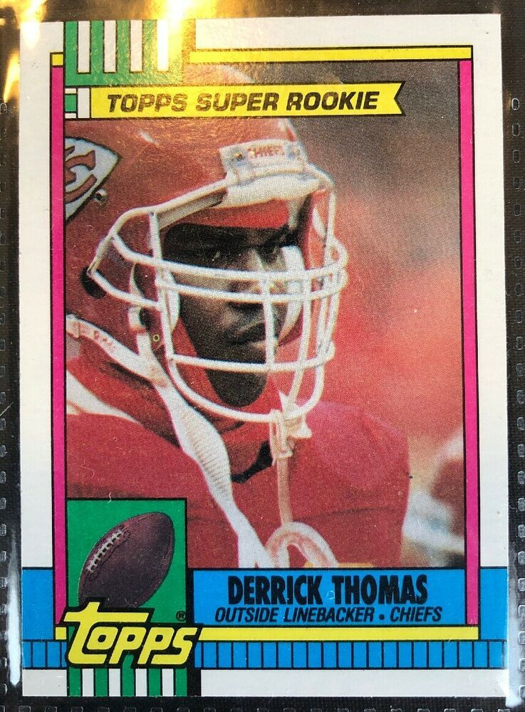 1990 Topps Super Rookie 248 Derrick Thomas Kansas City