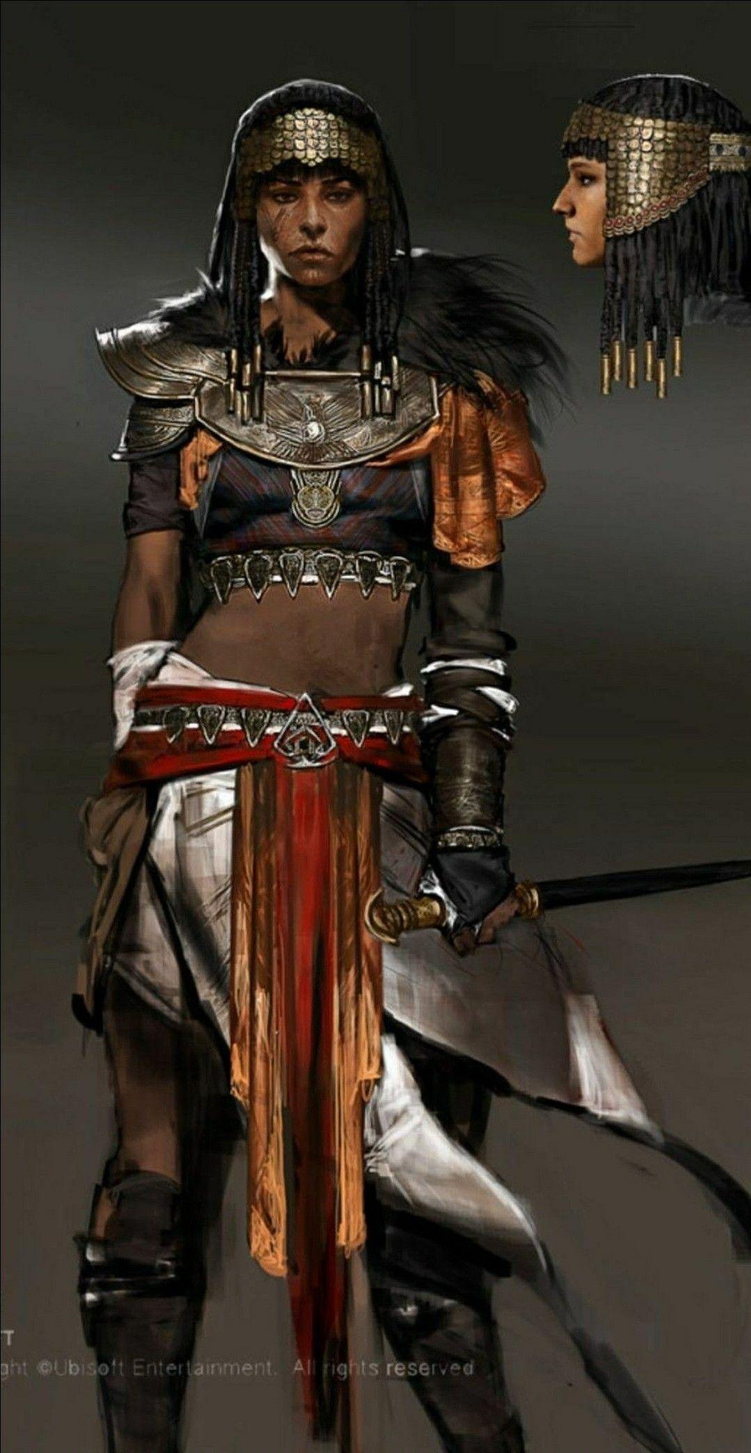 Assassin S Creed Origins Amunet Assassins Creed Art Assassins