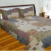 Found it at Wayfair - Patchwork Square Quilt Collection