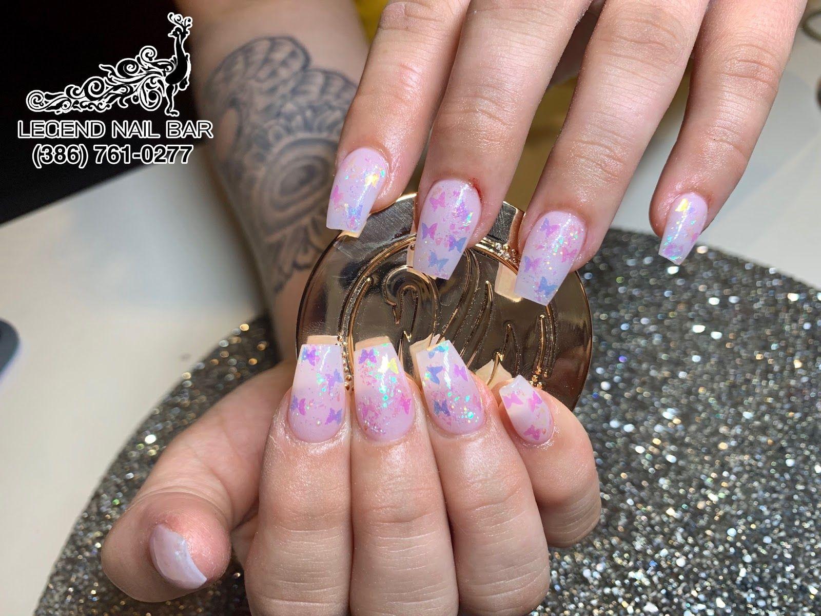 Legend Nail Bar Nail Salon In Port Orange Florida 32127 Manicure Nails Nail Bar