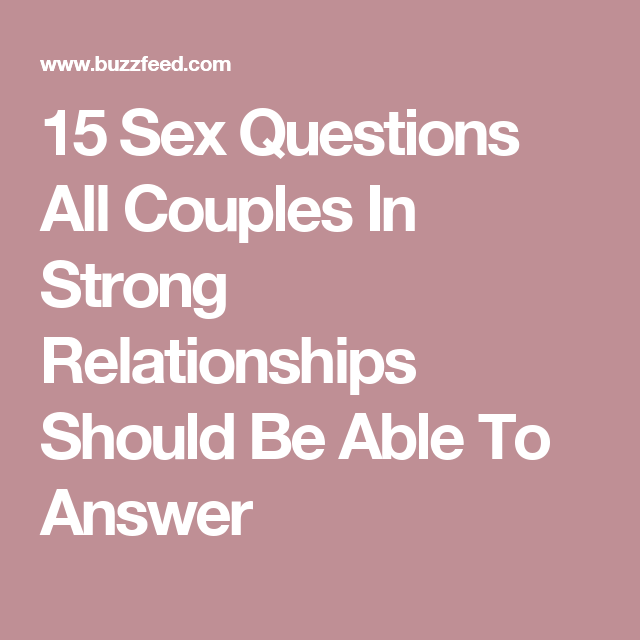 test your partner questions