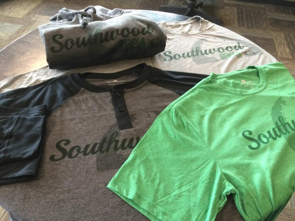 Represent @southwood1894 this summer at the cabin with some cool casual wear from @Levelwear. #hoodies #tshirts