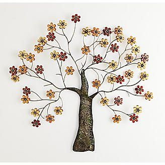 Would love to have this to hang on the wall above my bed.  $100 is more than I can afford, though.  Flowering Tree Wall Art from Montgomery Ward®
