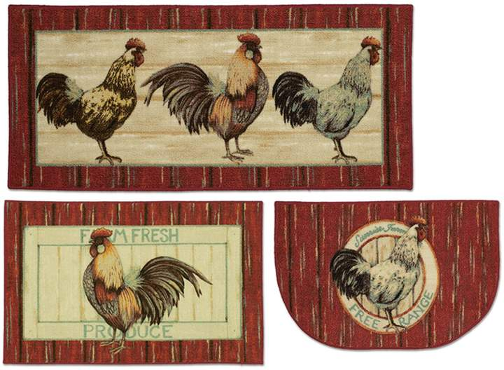 Mohawk® Home Free Range Rooster Kitchen Rug in 2019 ...