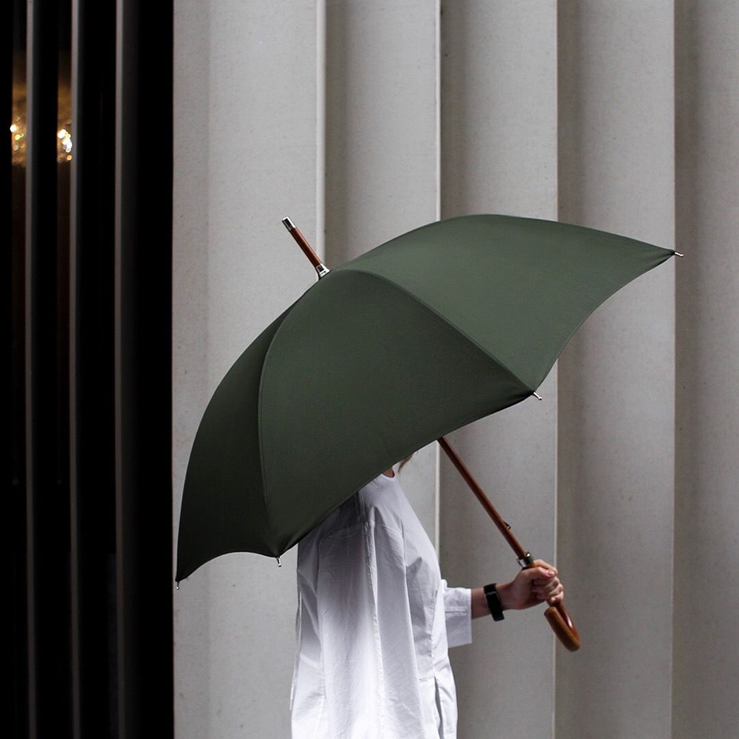 London Undercover Animal Head Tartan Umbrellas
