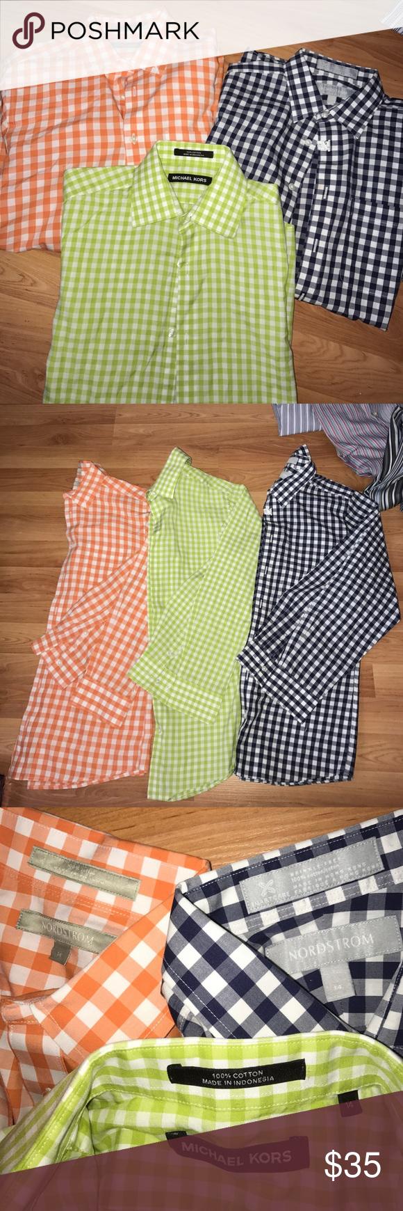 Green checkered dress shirt   boys checkered dress shirts  Pinterest  Dress shirts Nordstrom
