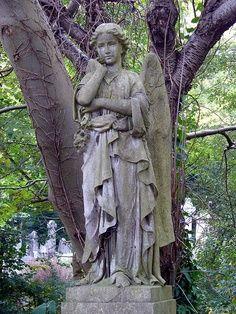 Cemetery Angels on Pinterest