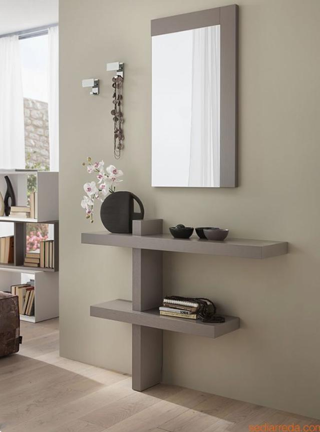 Photo of Meredith shelf and mirror set