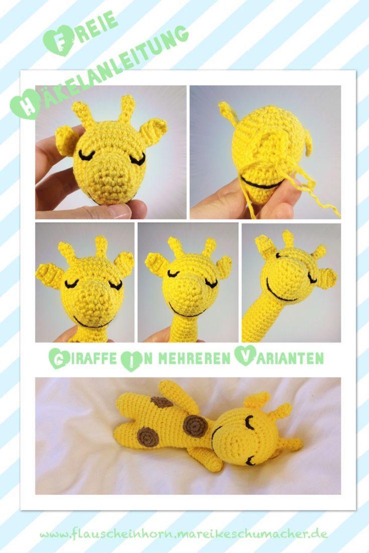 free crochet pattern crochet baby giraffe  velvet