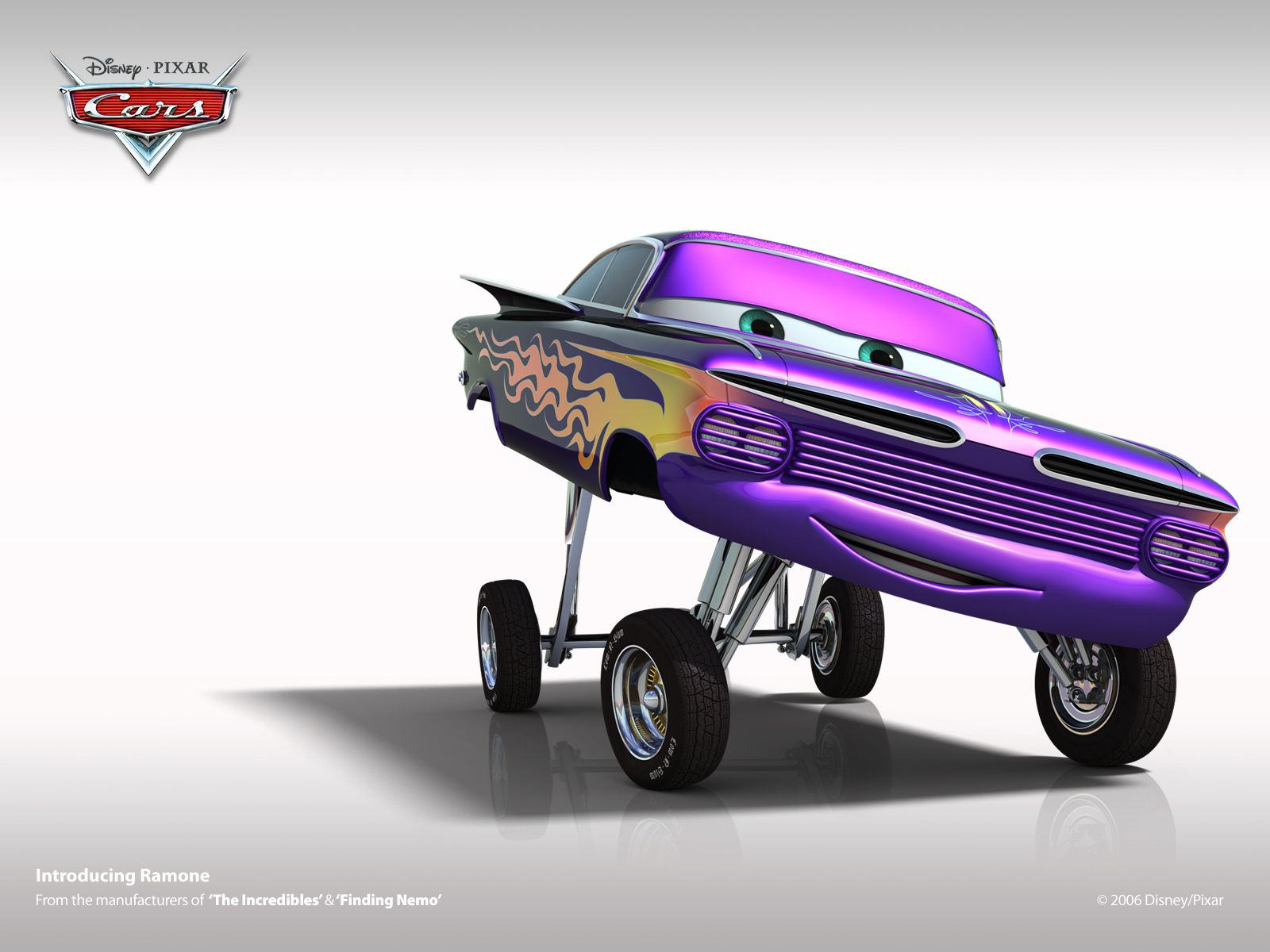 Ramone Cars Characters Art Cars Cars Movie