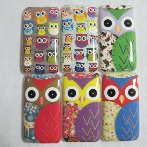 1pc Cute Lovely Owl Hard Back Case Cover for iPhone 3G 3GS 6 Models | eBay