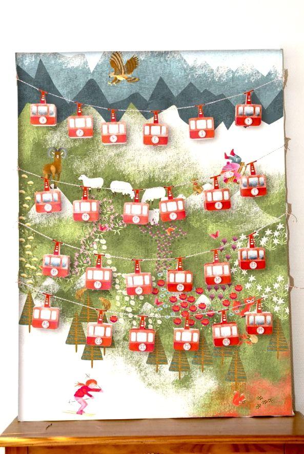 Adventskalender #calendrierdelaventdiy