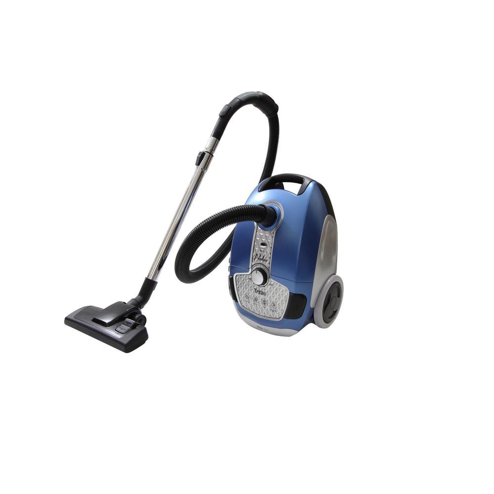 Prolux Tritan Canister Vacuum Hepa Sealed Hard Floor Vacuum With Powerful 12 Amp Motor Tritan Blue Canister Vacuum Vacuums Best Vacuum