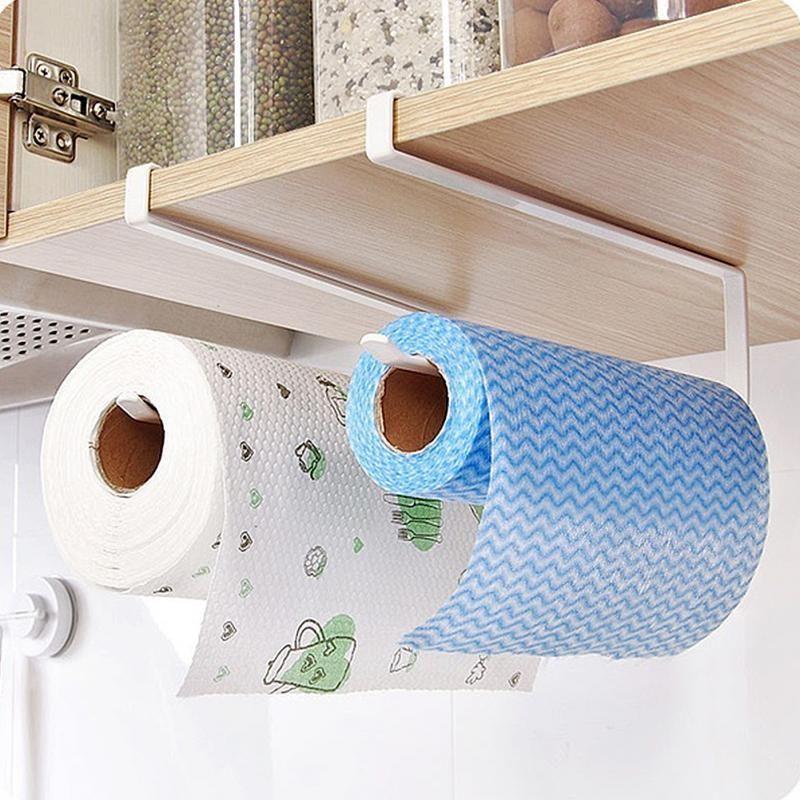Kitchen Smart Paper Towel Holder #kitchenorganizationdiy
