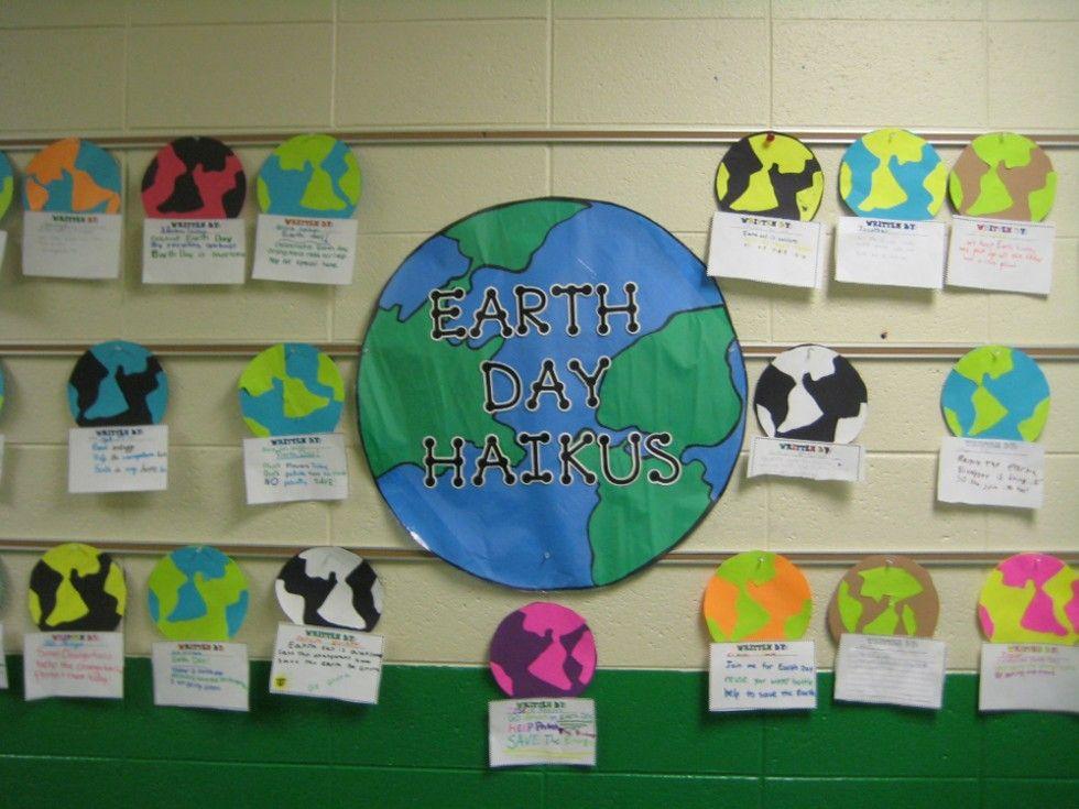Classroom Ideas For Earth Day ~ April bulletin board ideas for teachers holiday earth