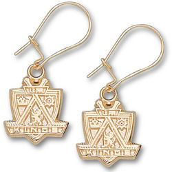Where to buy Los Angeles Kings Dangle Earrings 14 Karat Yellow Gold