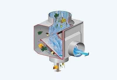 Regendieb Original Selfcleaning Rainwater Filter and Rain Diverter - downpipes